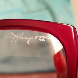 AUTHENTIC Tiffany & Co Burgandy Sunglasses